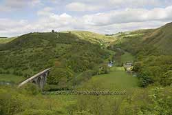 Monsal Dale near Bakewell in Derbyshire
