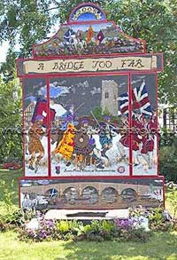 Well Dressing at Aston on Trent