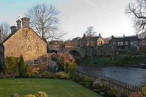 Photograph from  Baslow in Derbyshire