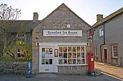Beresford Tea Rooms at Hartington in Derbyshire