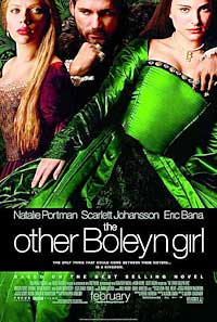 poster advertising the other boleyn girl movie