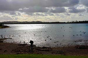 Carsington Water in Derbyshire