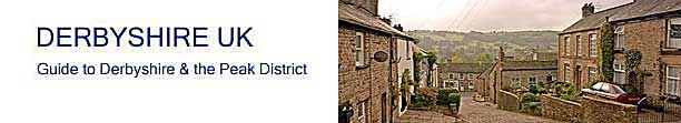 title banner for Derbyshire UK - Derbyshire and Peak District Guide