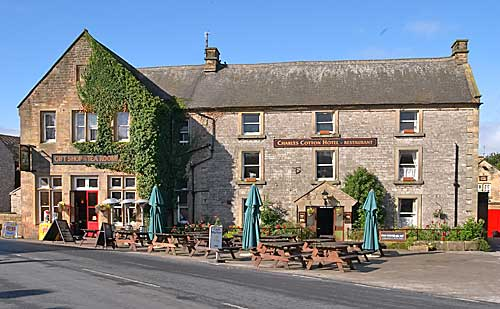 Charles Cotton Hotel at Hartington in Derbyshire
