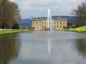 Photograph from  Chatsworth House and Gardens