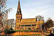 St Bartholomew's Church in clay cross