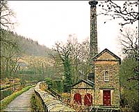 Leawood Pumphouse along Cromford Canal