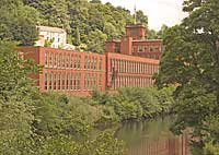 Masson Mill at Cromfod in Derbyshire