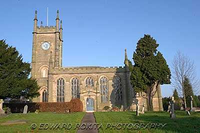 Darley Abbey church