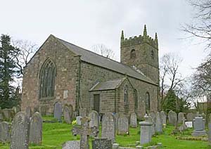 Photograph of Elton church