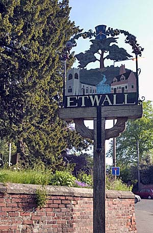 Photograph from  Etwall