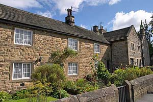 Photograph from  Eyam