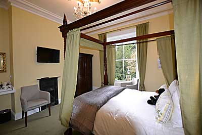 Bedroom at Glendon Guest House,  luxury holiday accommodation at Matlock in  Derbyshire
