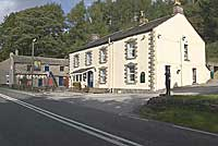 the snake inn on the Glossop to Sheffiels road