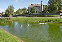 Hartington village pond