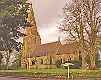 all saint's church in lullington