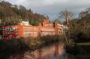 Photograph from  Cromford in Derbyshire