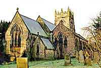 Church of the Holy Cross in Morton,Derbyshire