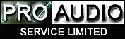 PRO AUDIO SERVICE LIMITED at Swadlincote Derbyshire