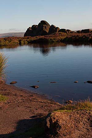 Photograph from  The Roaches in the Peak District
