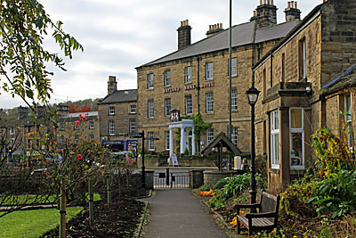 Rutland Arms Hotel  at  Bakewell
