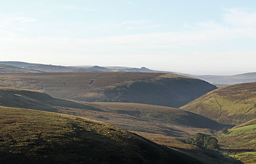 View from the Cat and Fiddle Road
