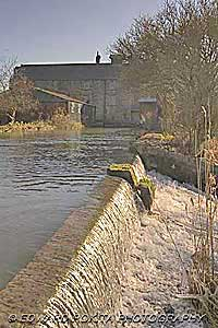 Cauldwell's Mill at Rowsley in Derbyshire