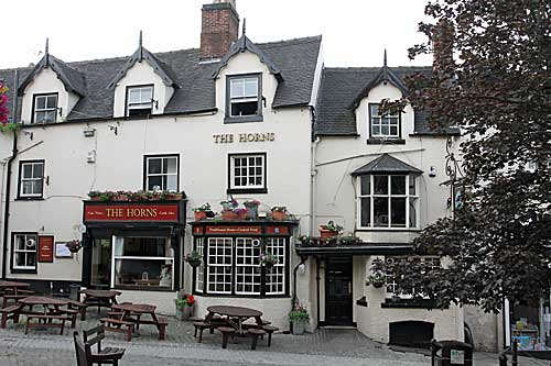 The Horns Inn   at Ashbourne in Derbyshire