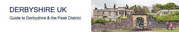 title banner for Tissington Hall in  Derbyshire UK - Derbyshire and Peak District Guide