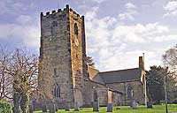 st laurence's church in walton on trent